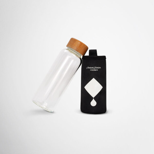 Branded water bottles by Framme