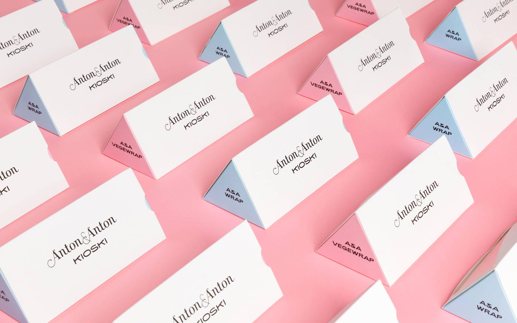 Anton&Anton packaging by Bond Agency and Framme