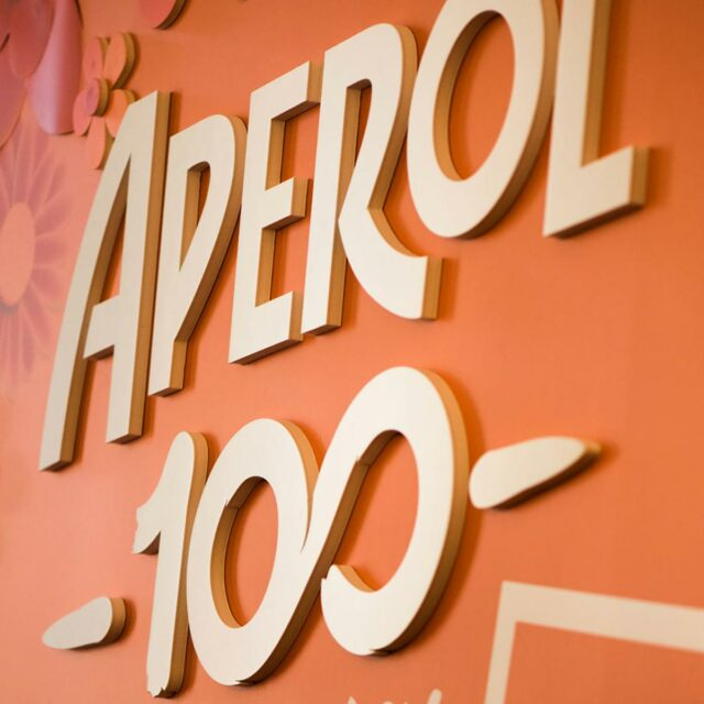 Aperol Spritz 3D backdrops by Framme