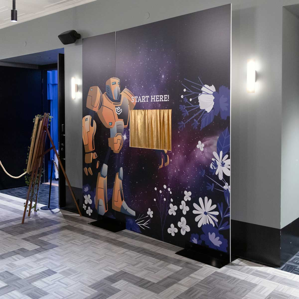 Epicenter Helsinki Launch Party Backdrops and Walls by Framme