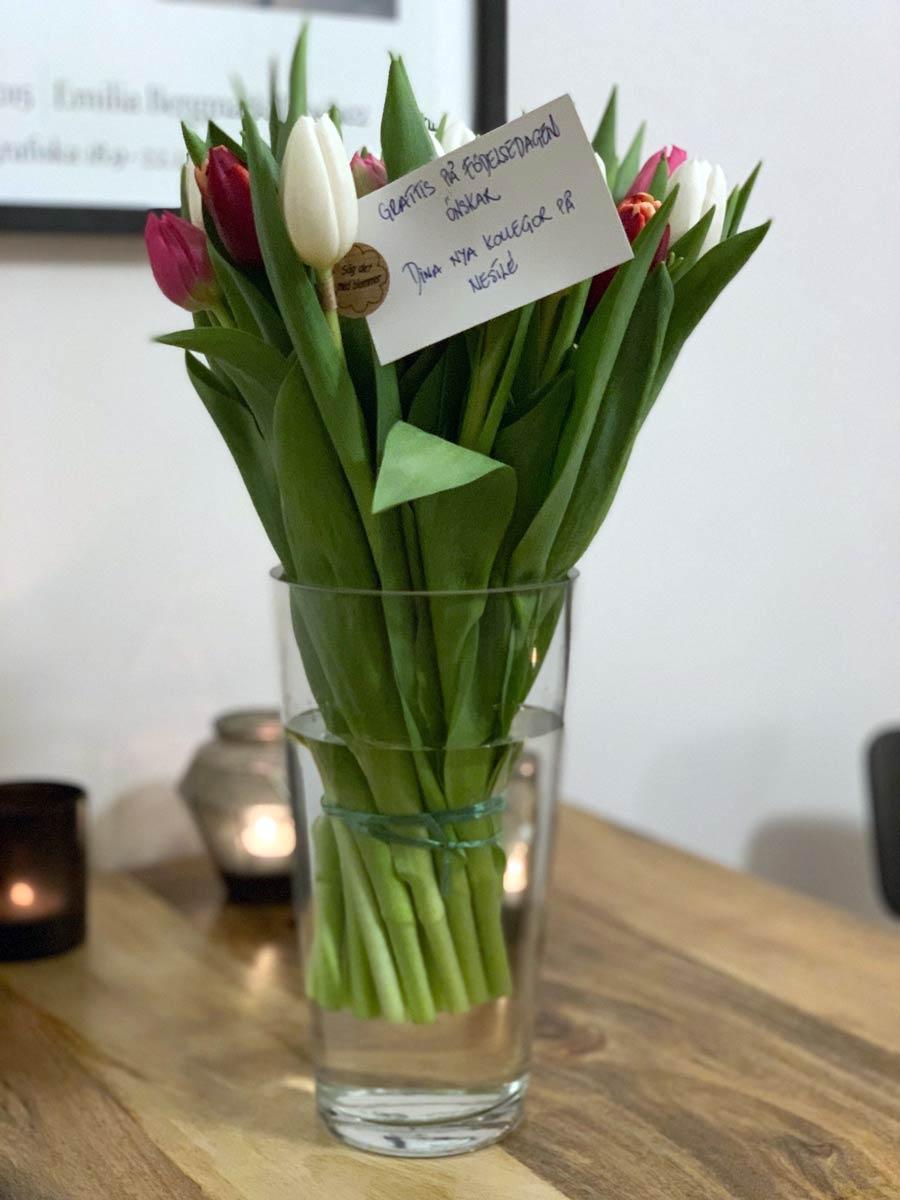 Flowers from Nestlé