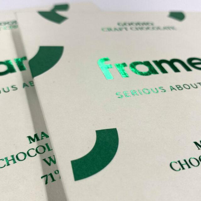 Framery x Goodio chocolates by Framme