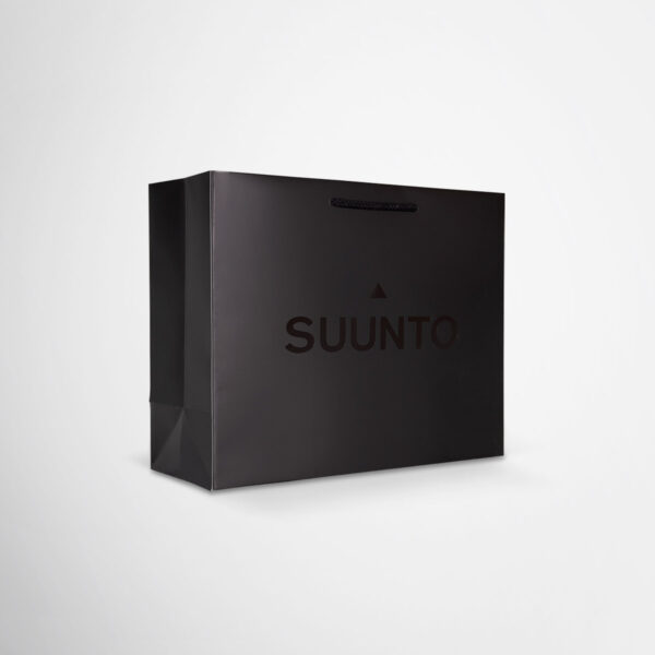 Premium Suunto paper bags by Framme