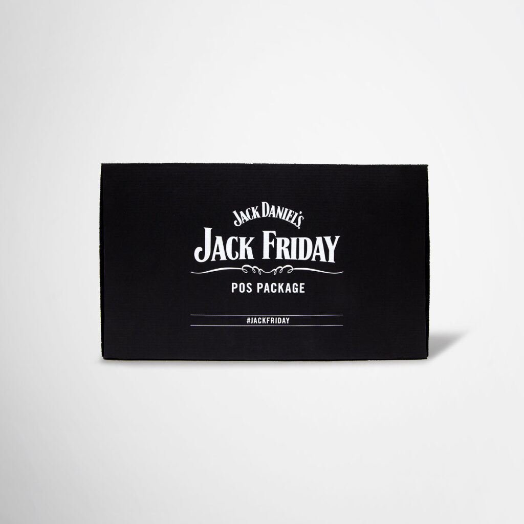 Tailor-made POS packages for Jack Daniels by Framme