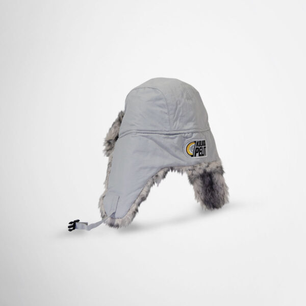 Branded furry hats