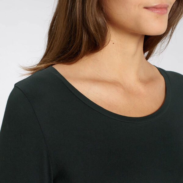 Women's organic cotton long sleeve t-shirt by Framme and Stanley/Stella