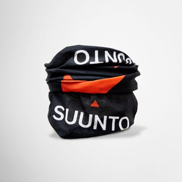 Branded, tailor-made Suunto scarf for athletes