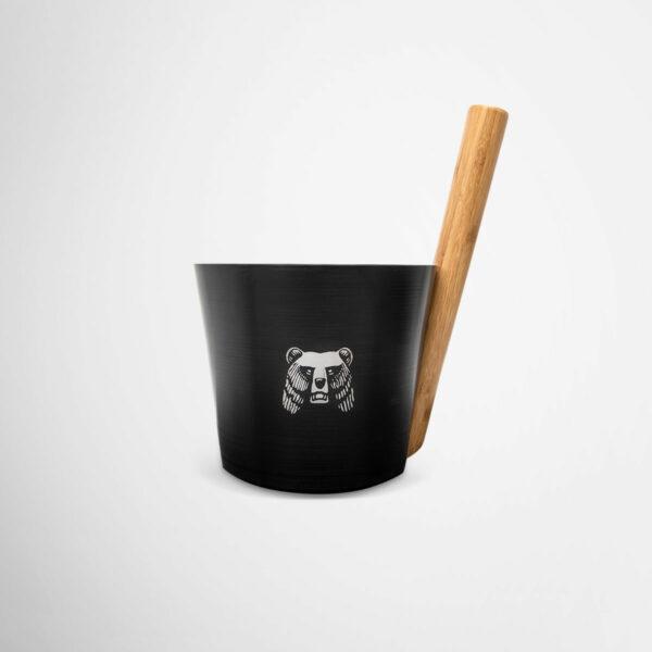 Branded sauna bucket by Framme