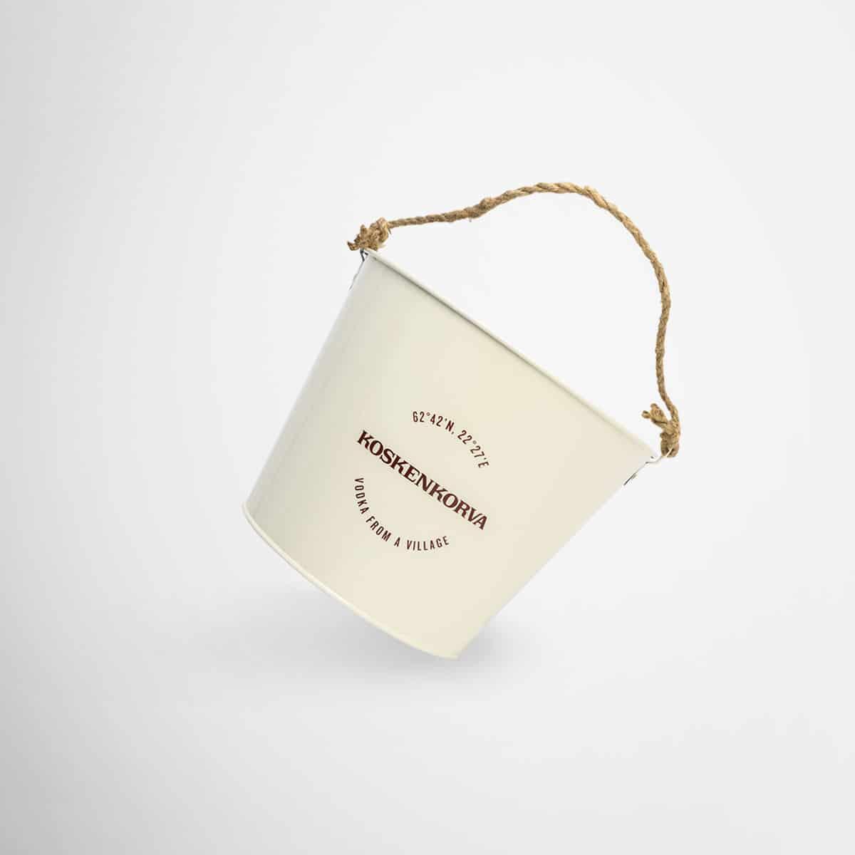 Branded Koskenkorva Bucket by Framme