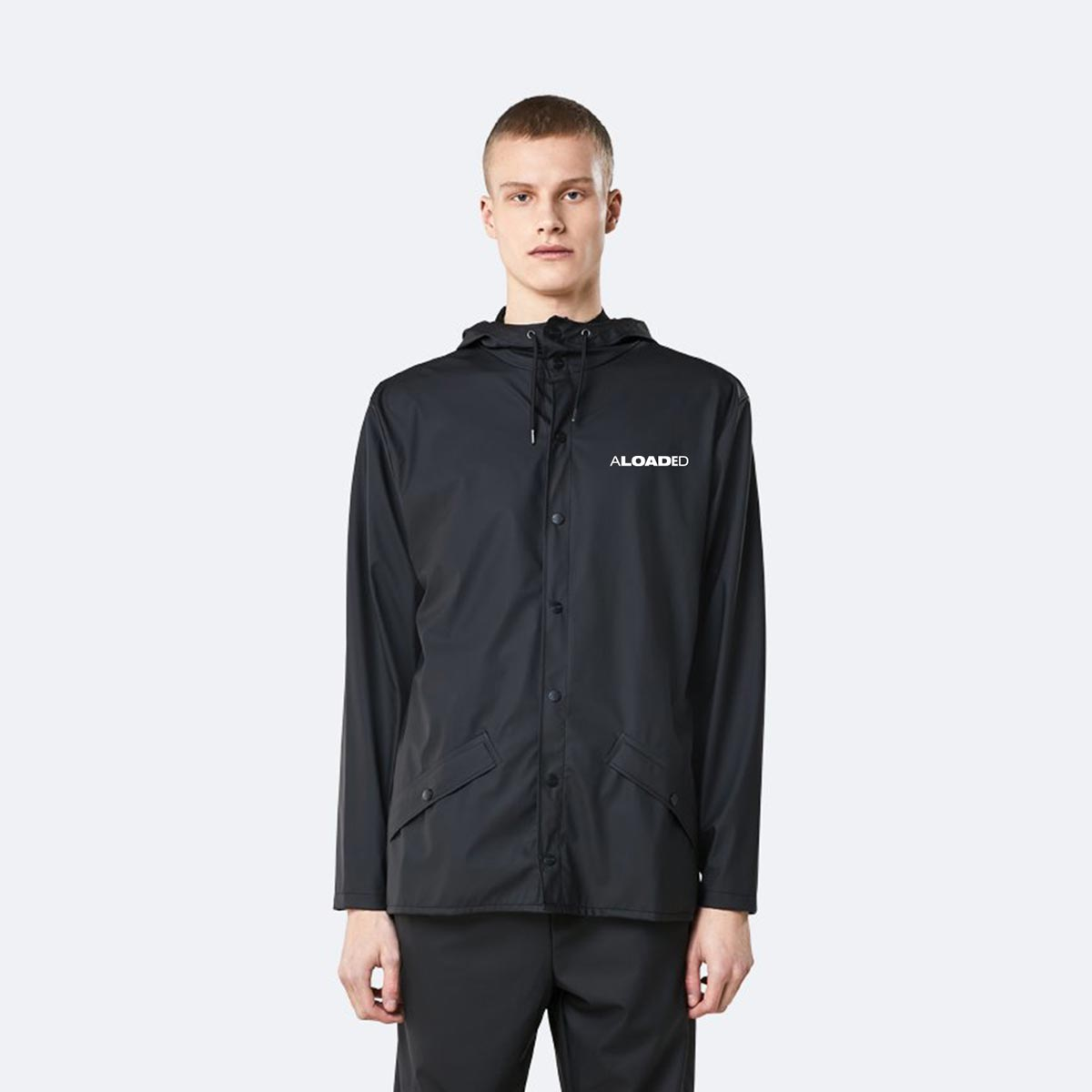 Branded unisex rainjackets from Rains and Framme