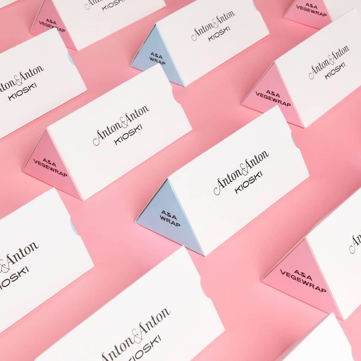 Anton & Anton packaging from Framme & Bond