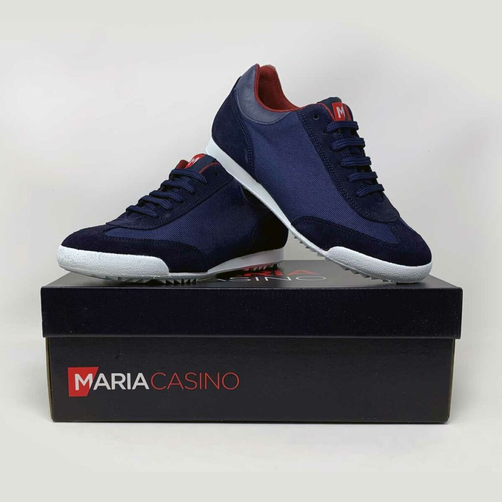 Branded Maria Casino sneakers by Framme