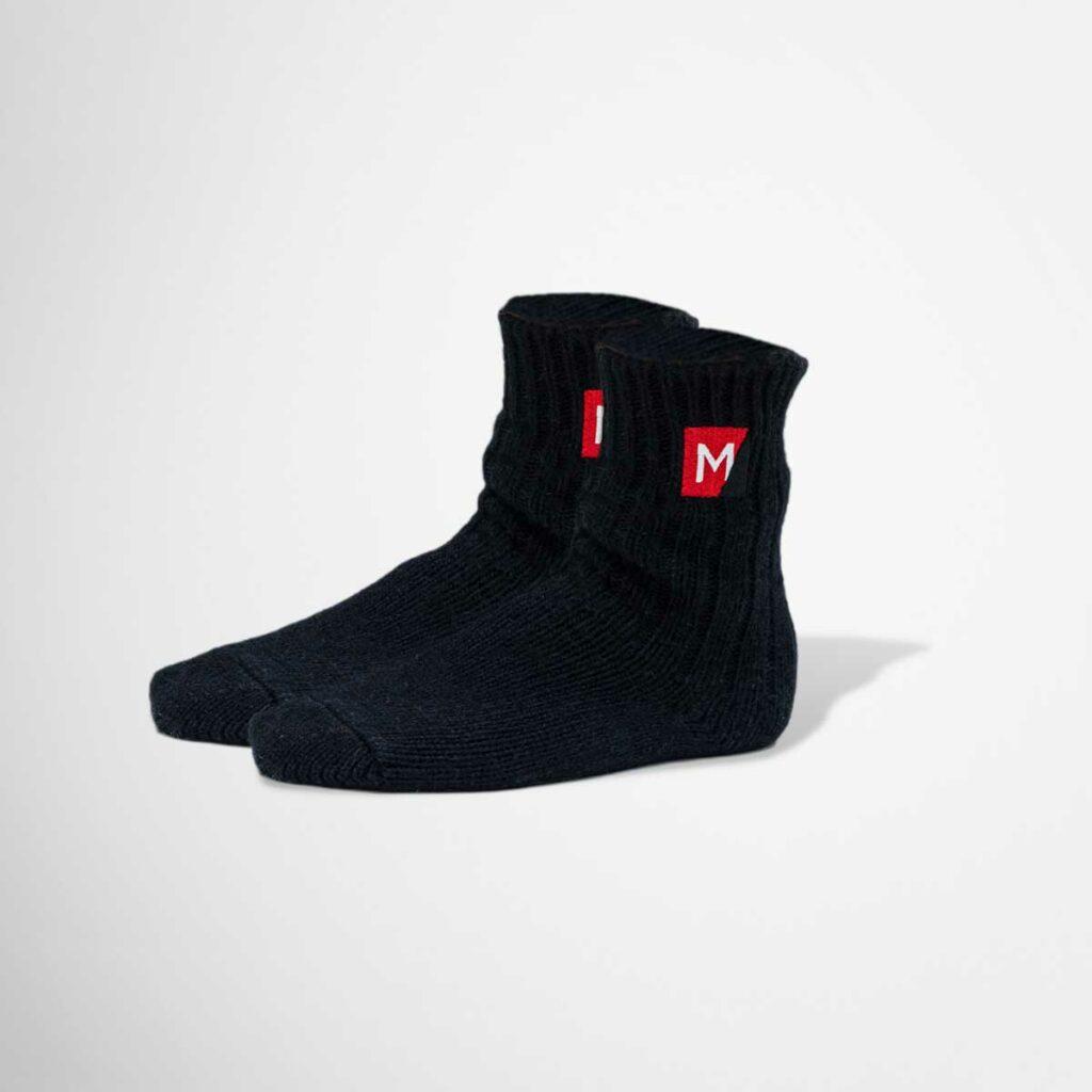 Branded Maria Casino woollen socks by Framme