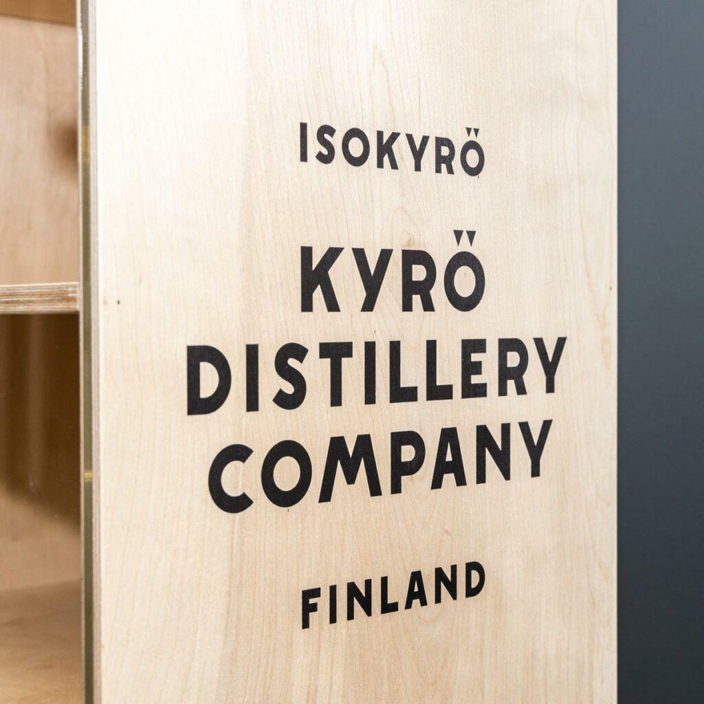 Kyrö Distillery Retail Display by Framme
