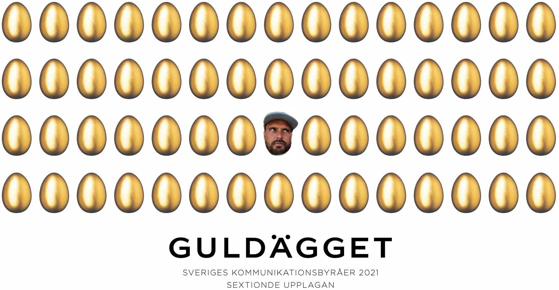 Guldägget Jury Member Per from Bloomy Ideas