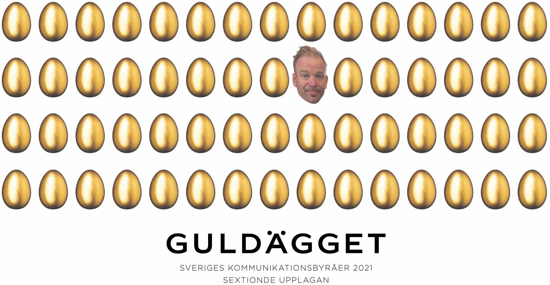 Guldägget partnership Johan damgaard
