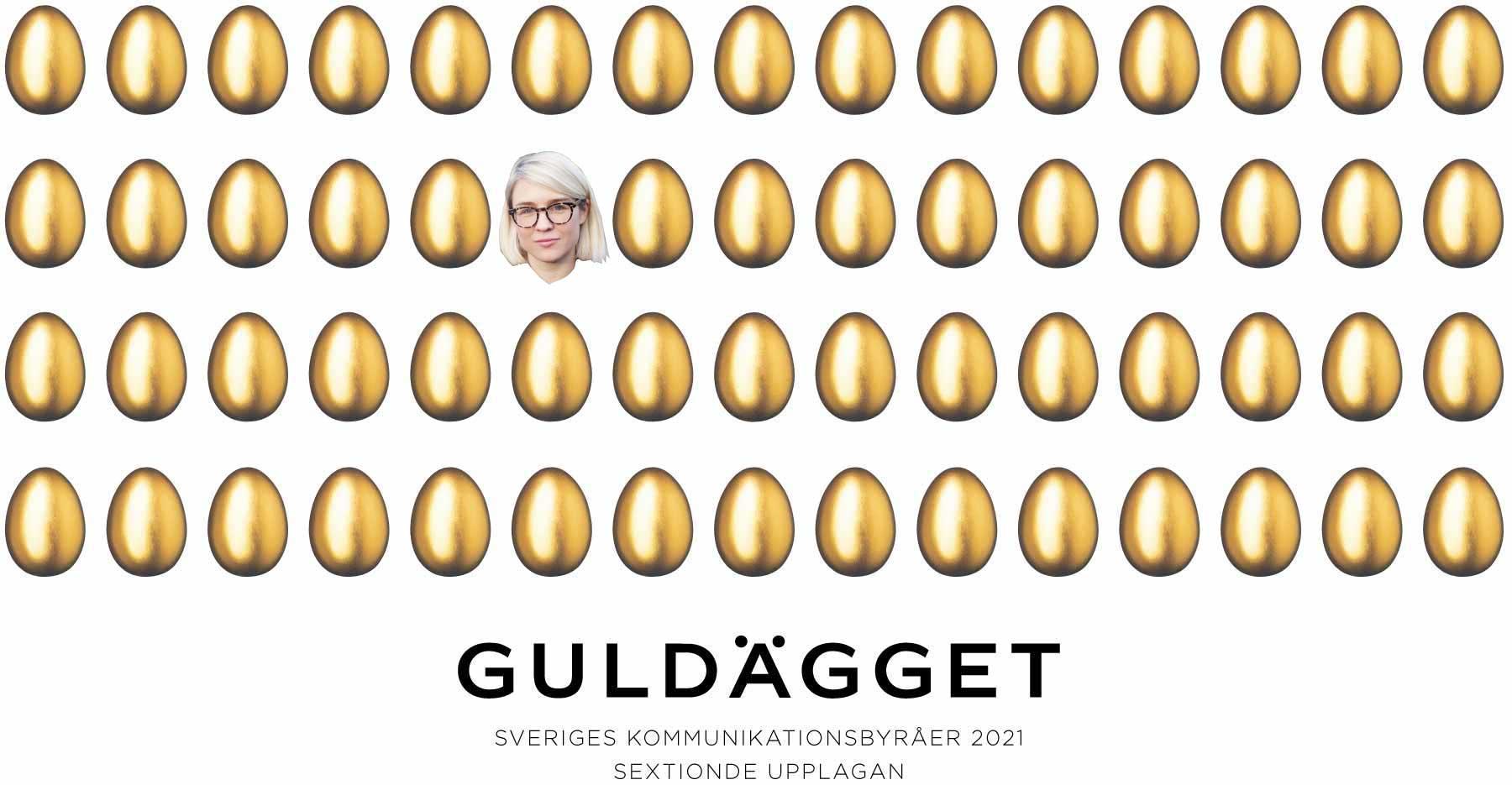 Guldägget partnership Ebba Grenninger