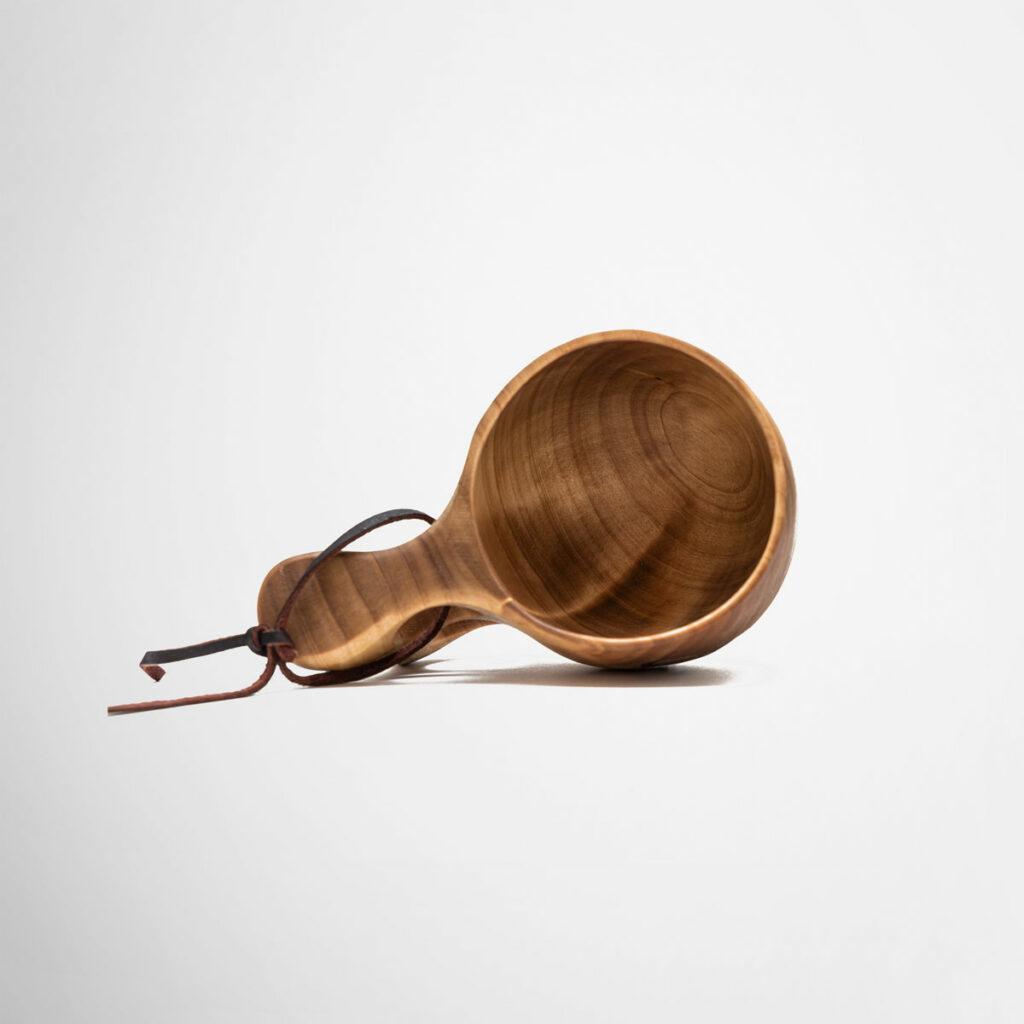 Branded wooden cup – kuksa kåsa – by Framme