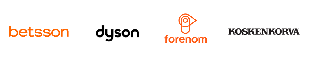 Framme Store Customer logos